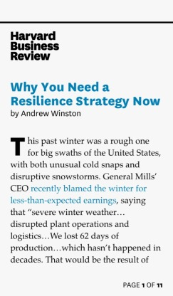 MULTIPLICATION & Why You Need a Resilience Strategy Now