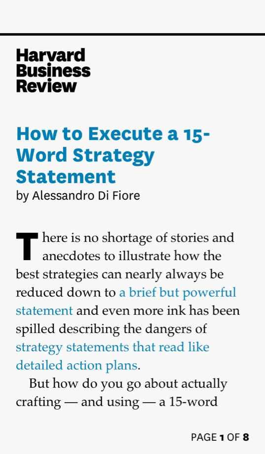 strategy  u0026 how to execute a 15
