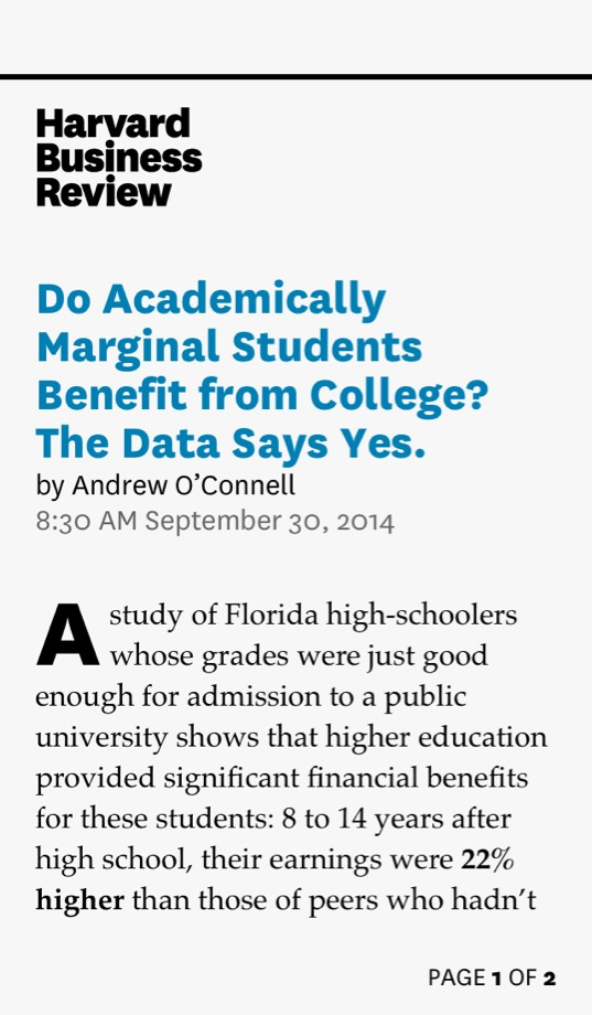 the benefits of college education to a student With 202 million us college students in 2015 and average student debt at over   a college degree is no guarantee of workplace benefits.