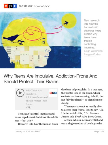 Why Teens Are Impulsive Addiction Prone >> Generations Why Teens Are Impulsive Addiction Prone And Should