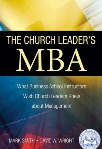 Church Leader's MBA cover