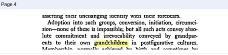 QUOTE Margaret Mead on Grandparents & Grandchildren