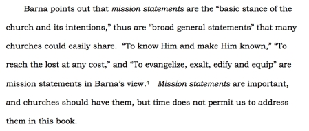FIGURE ©Whitesel HOUSE DIVIDED 5.1 Mission & Vision Statement Compared p 107.b
