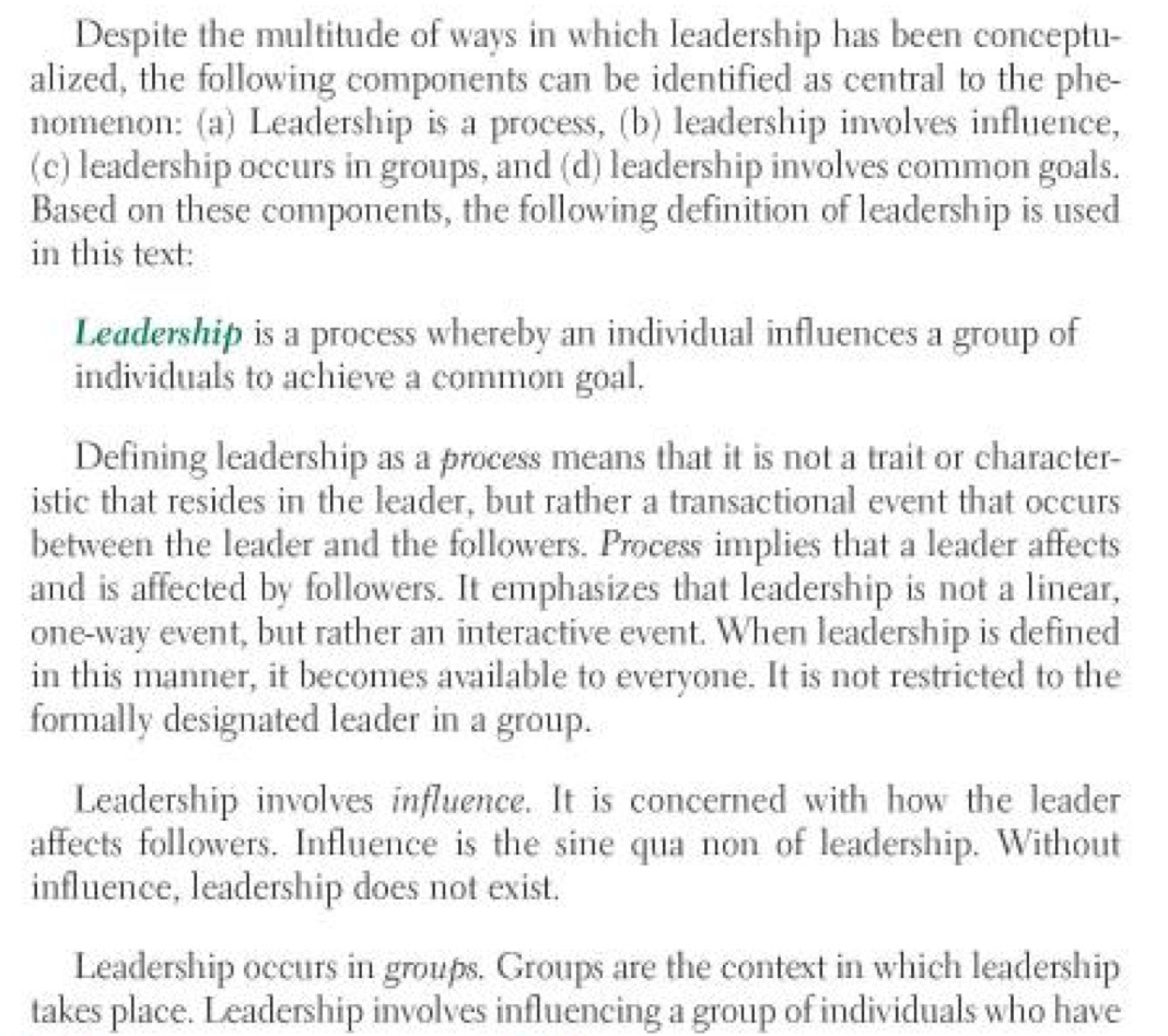 Northouse Leadership Defined Theory 6th ed p. 6 copy