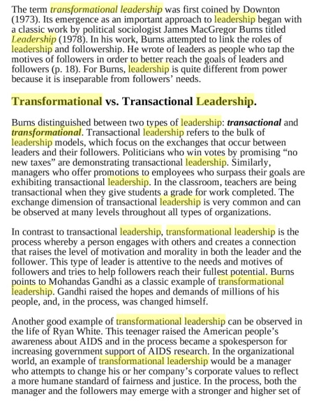 BOOK EXCERPT Definition of Transformational Leadership Northouse 7th ed p. 162.jpg